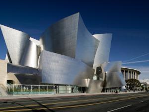 Walt Disney Concert Hall, Los Angeles, California, USA by Walter Bibikow