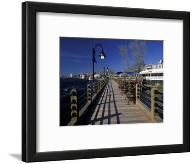 Water Street Walkway along Cape Fear River, Wilmington, North Carolina