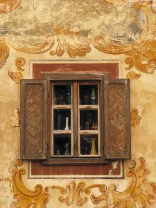 Window Detail, Bardejov, Saris Region, East Slovakia by Walter Bibikow