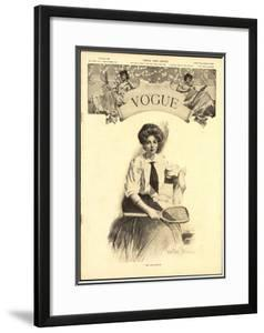 Vogue Cover - August 1906 by Walter Briggs