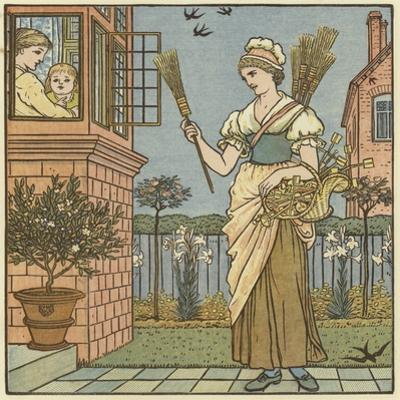 Buy a Broom by Walter Crane