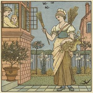 Buy a Broom by Walter Crane