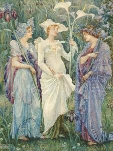 Ensigns of Spring by Walter Crane