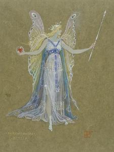 Fairy Princess, 19th Century by Walter Crane