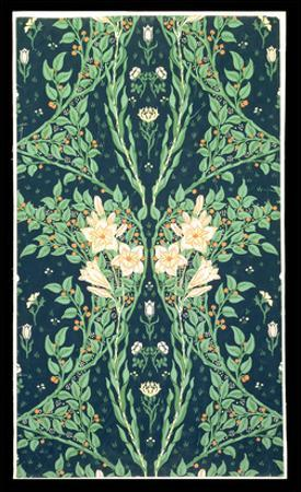 Francesca Wallpaper Design by Walter Crane