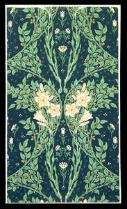 Francesca Wallpaper Design by Walter Crane