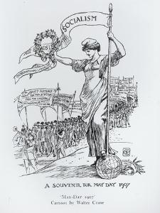 May Day, 1907 by Walter Crane