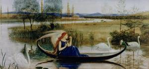 My Soul Is an Enchanted Boat (W/C) by Walter Crane