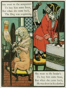 Old Mother Hubbard by Walter Crane