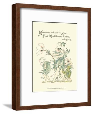 Shakespeare's Garden I (Anemone)