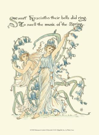 Shakespeare's Garden II (Hyacinth) by Walter Crane