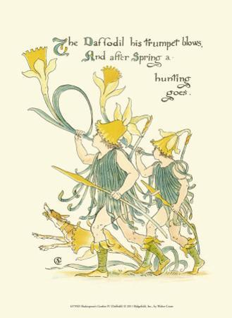 Shakespeare's Garden IV (Daffodil)