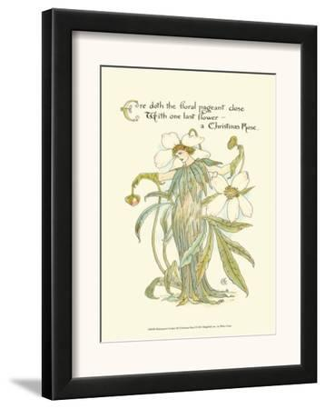 Shakespeare's Garden XII (Christmas Rose) by Walter Crane