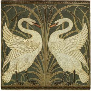 Swan Design by Walter Crane