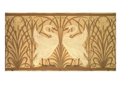 Swan Wallpaper Design