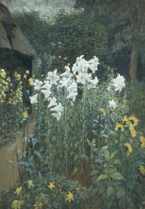 The Garden, 1908 by Walter Crane