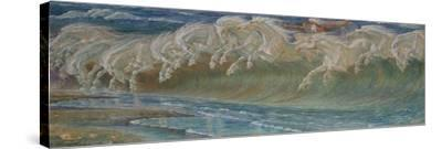 The Horses of Neptun, 1892 by Walter Crane