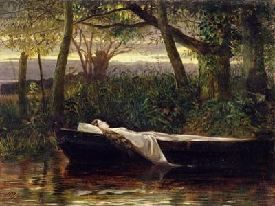 The Lady of Shalott, 1862 by Walter Crane