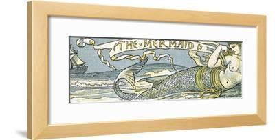 The Mermaid', Song Illustration from 'Pan-Pipes', a Book of Old Songs, Newly Arranged and with…