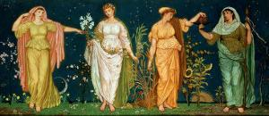 The Seasons by Walter Crane