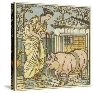 There Was a Lady Loved a Swine by Walter Crane