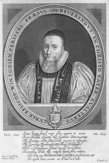 Walter Curll (Curle), Bishop of Winchester (1575-1647), 17th century-Thomas Cecill-Giclee Print