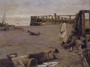 An October Morning, 1885 by Walter Frederick Osborne