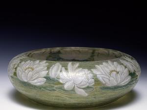 Crystal Bowl, 1906, Murano, Italy by Walter Frederick Osborne