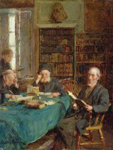 Marsh's Library, Dublin by Walter Frederick Osborne
