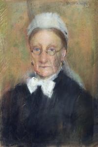 Portrait of a Lady by Walter Frederick Osborne