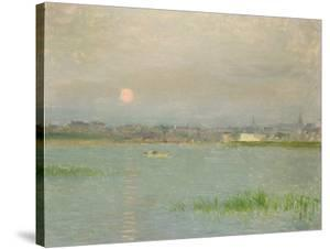 Rising Moon, Galway Harbour by Walter Frederick Osborne