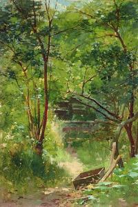 Stream in a Wood, 1883 by Walter Frederick Osborne
