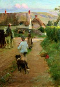 The Loiterers, 1888 by Walter Frederick Osborne