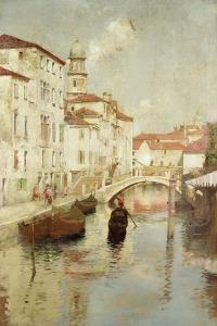 Venetian Scene by Walter Frederick Osborne