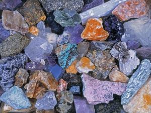 Assorted Minerals of the World by Walter Geiersperger