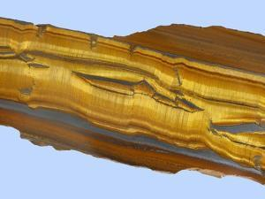 Tiger Eye Gemstone by Walter Geiersperger