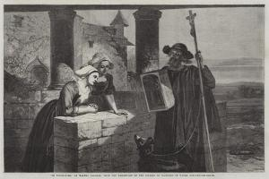 Le Reliquaire, from the Exhibition of the Society of Painters in Water Colours by Walter Goodall