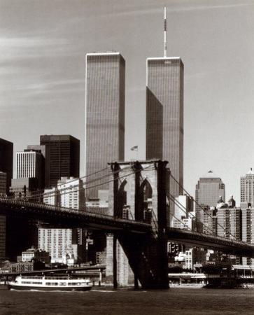 World Trade Center and Brooklyn Bridge