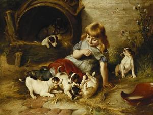 Playmates by Walter Hunt
