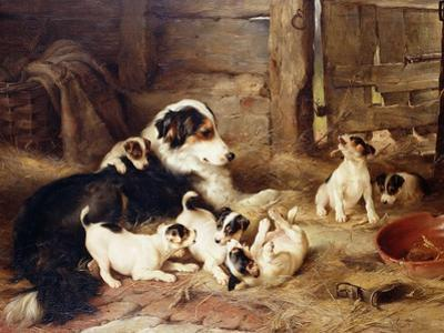 The Foster Mother by Walter Hunt