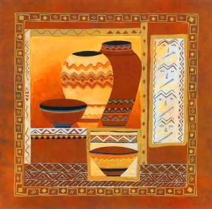 Ethnis Pottery by Walter Kano
