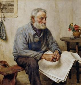 A Moment's Rest by Walter Langley