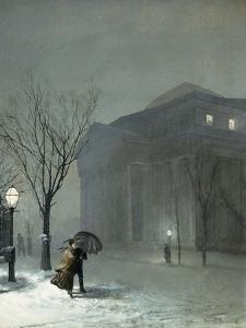 Albany in the Snow, 1871 by Walter Launt Palmer