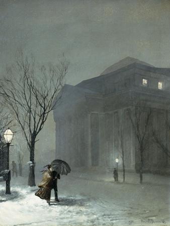 Albany in the Snow, 1871