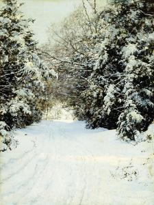 Snow-Laden Trees, 1887 by Walter Launt Palmer