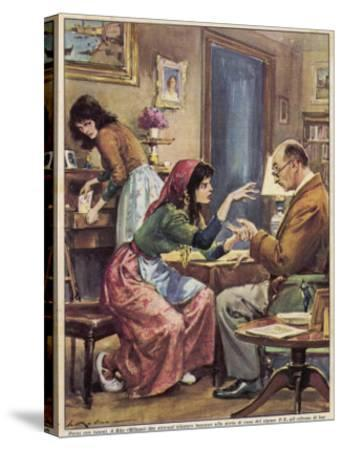 Gypsies Offer to Read the Hand of Signor F.Z. at Rho Milan