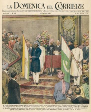 Independence for the Indian Sub-Continent Divides India and Pakistan