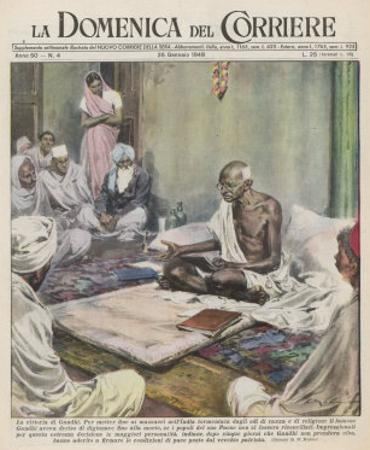 Mahatma Gandhi Indian Nationalist and Spiritual Leader