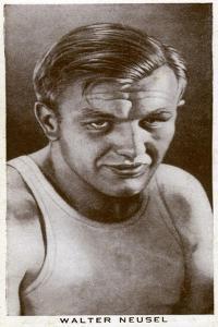 Walter Neusel, German Boxer, 1938