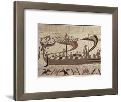 Invasion Fleet, Bayeux Tapestry, France